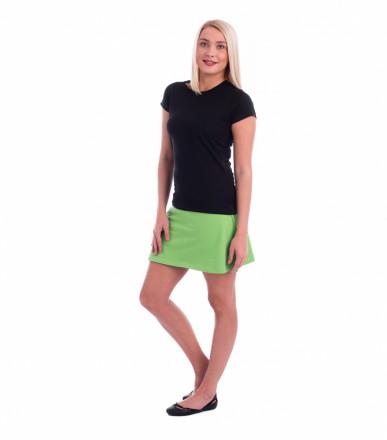 ADLER CZECH Sukně dámská Skirt two in one 604 - trávově zelená z kolekce  MALFINI  eeb491e1b7
