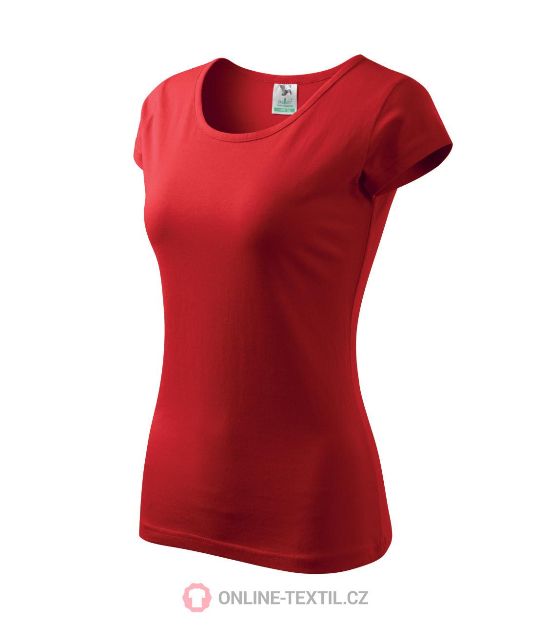 1c53d0a4a4f ADLER CZECH Pure tričko dámské A22 - červená z kolekce MALFINI ...