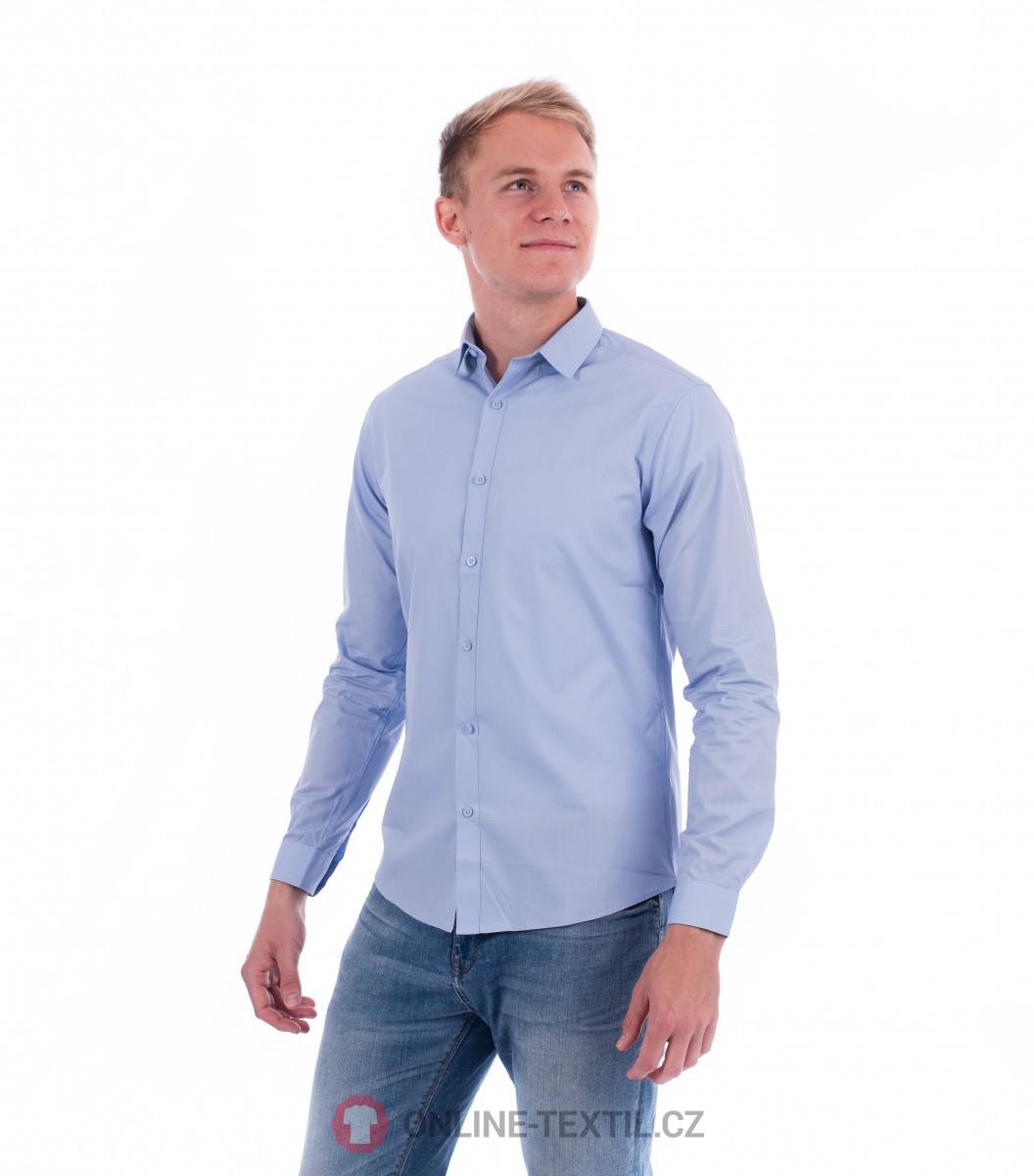 ADLER CZECH Malfini Premium Dynamic košile pánská 262 - light blue z ... 4c3d349d06