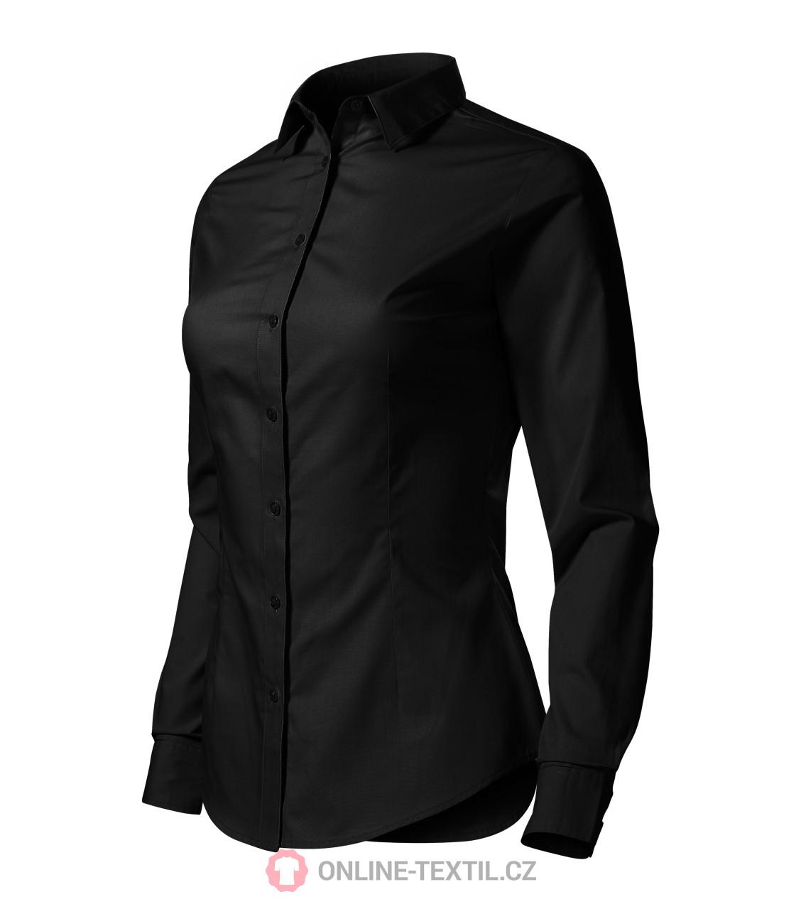 ADLER CZECH Dámská košile Style LS s dlouhým rukávem 229 - černá z ... 3791415043