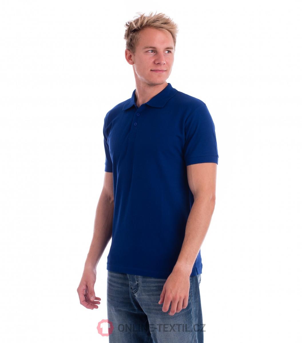 ADLER CZECH Bavlněná pánská polokošile Cotton 212 - královská modrá ... d70a20809c