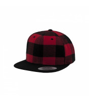 Checked Flannel Snapback