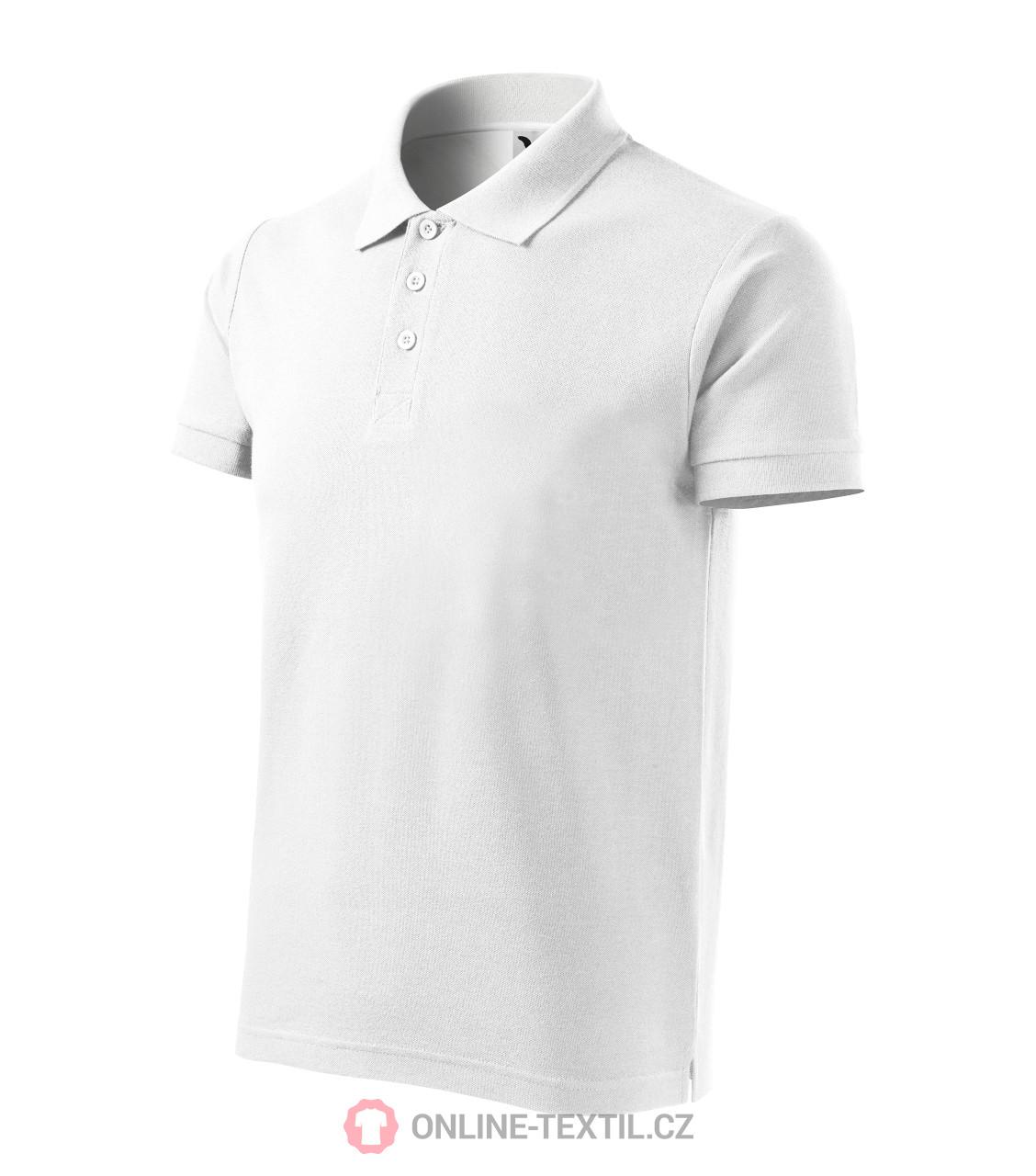 ADLER CZECH Bavlněná pánská polokošile Cotton 212 - bílá z kolekce ... 6c1551866d
