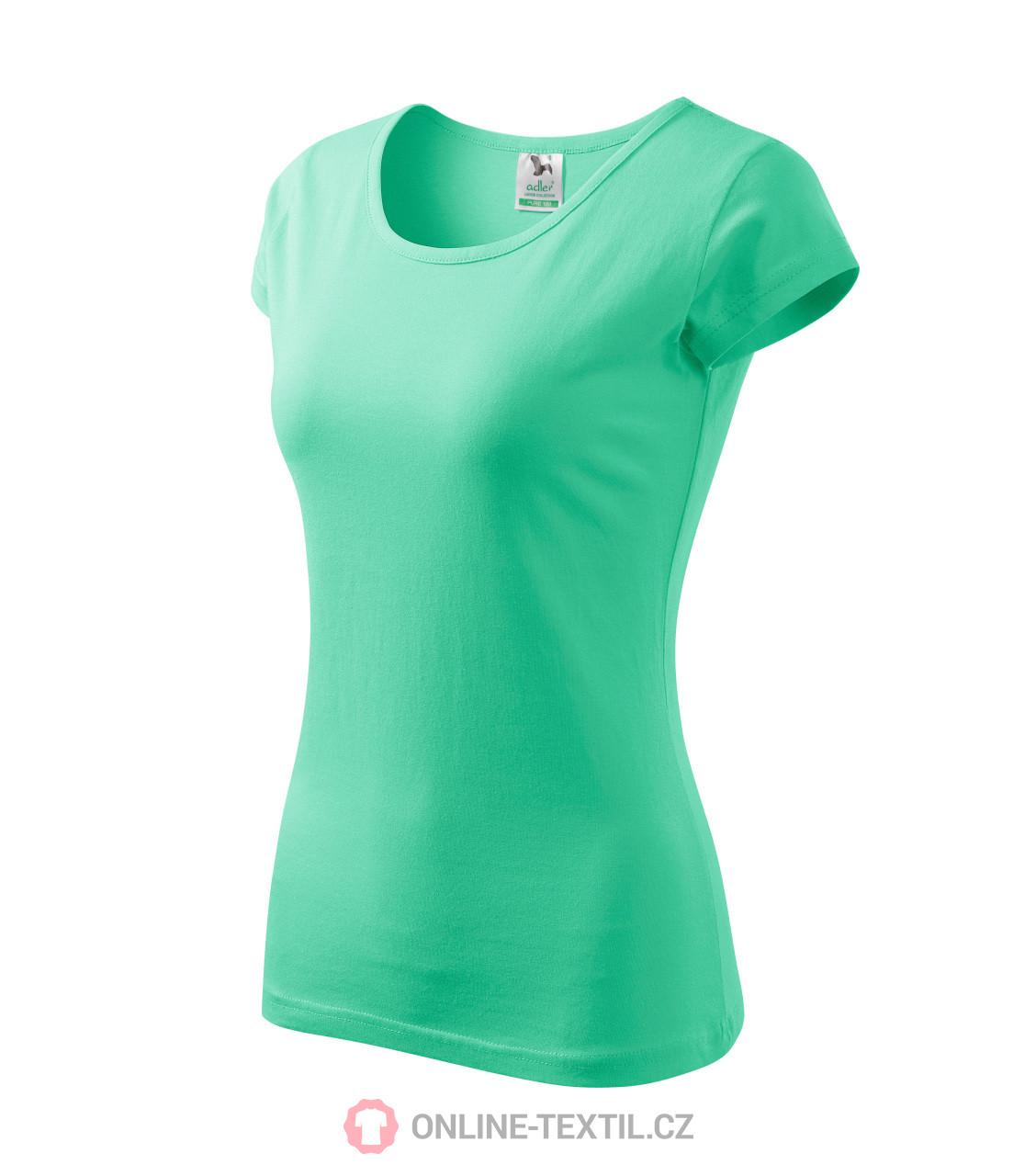e8d0c63378b ADLER CZECH Pure tričko dámské A22 - mátová z kolekce MALFINI ...