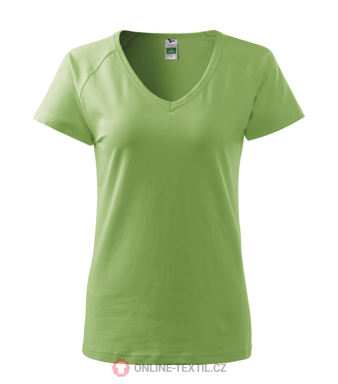 ADLER CZECH Tričko dámské Dream 1X8 - trávově zelená z kolekce ... 8f806ca24c