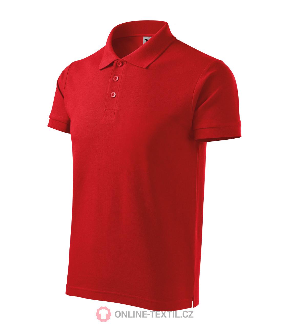 ADLER CZECH Bavlněná pánská polokošile Cotton 212 - červená z ... 43dd518810