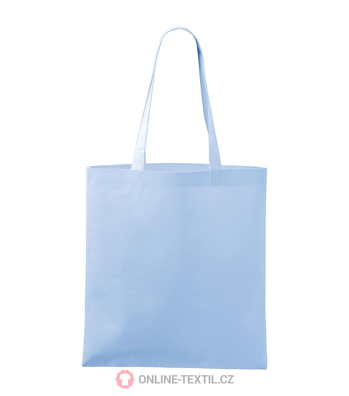 0ef9211872a ADLER CZECH Bloom nákupní taška z netkané textilie P91 - nebesky ...