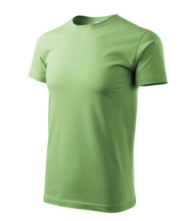 ADLER CZECH Tričko Heavy New vyšší gramáže 137 - trávově zelená z kolekce  MALFINI  3c41a03848
