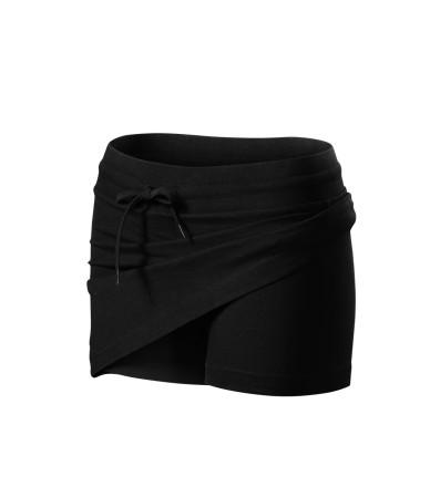 ADLER CZECH Sukně dámská Skirt two in one 604 - černá z kolekce MALFINI  3056f038e3