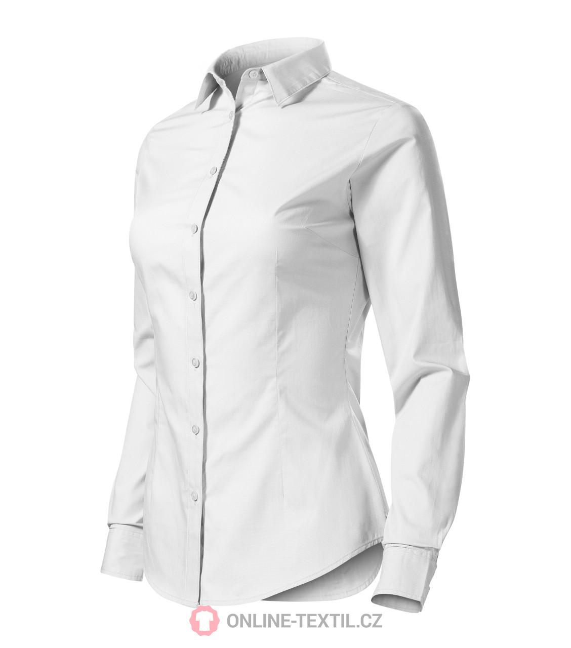 076dbf5d532 ADLER CZECH Dámská košile Style LS s dlouhým rukávem 229 - bílá z ...