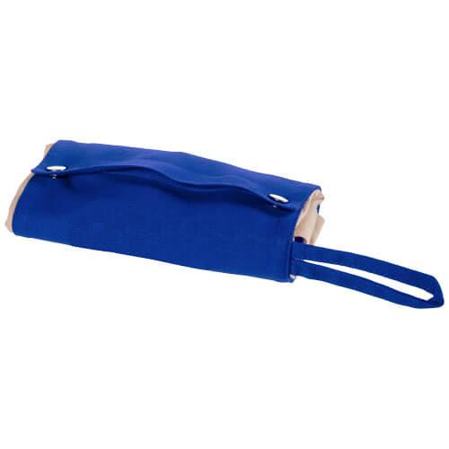 Srolovatelná plátěná taška Snap BULLET královská modrá uni