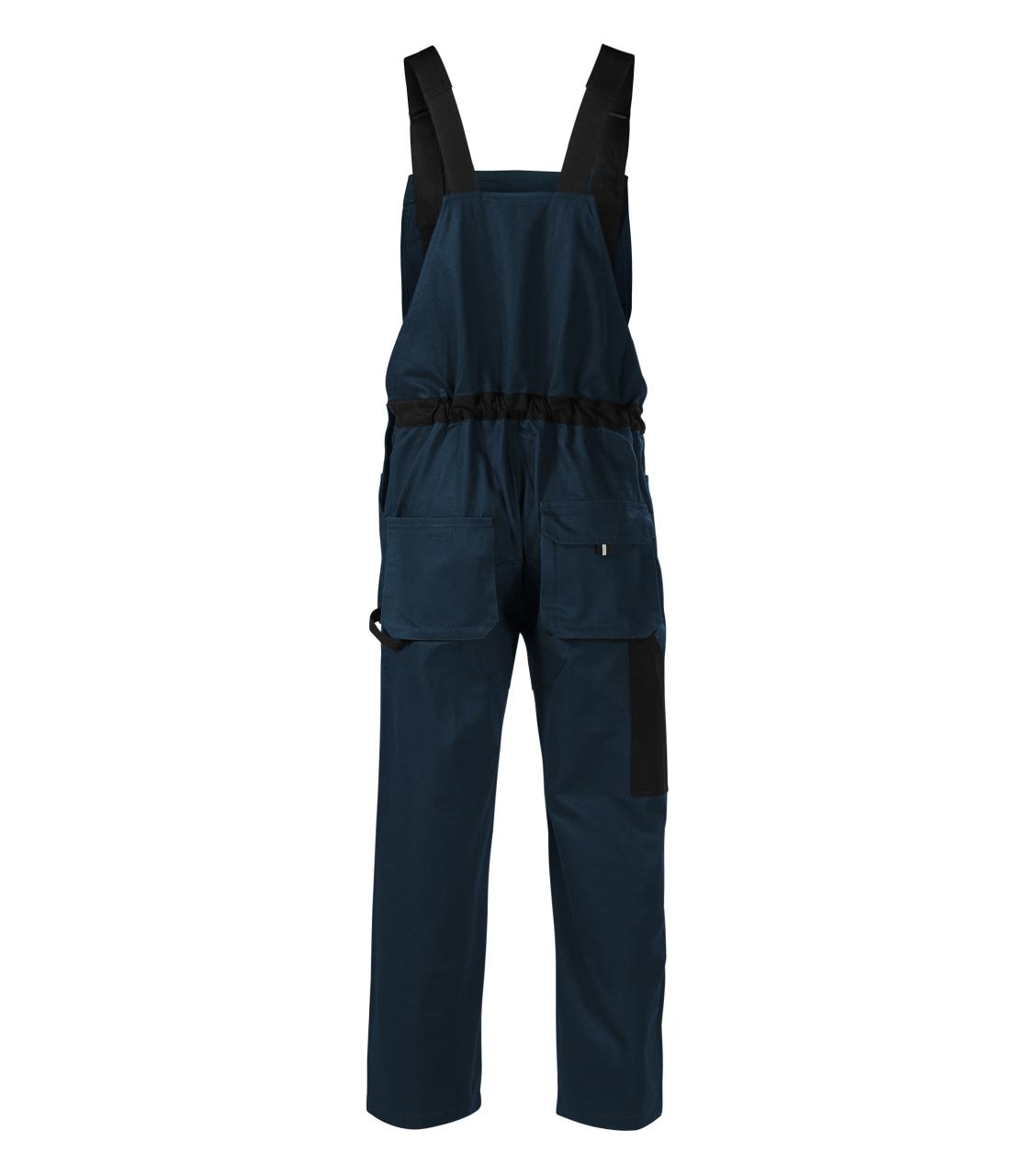 Woody pracovní kalhoty s laclem pánské Rimeck ADLER CZECH námořní modrá M
