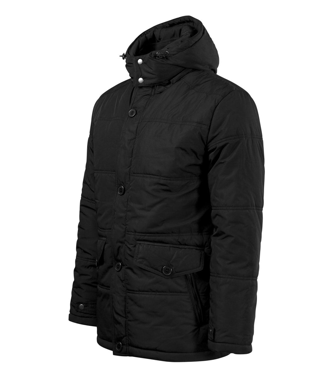Pánská zateplená zimní bunda Nordic ADLER CZECH černá 2XL