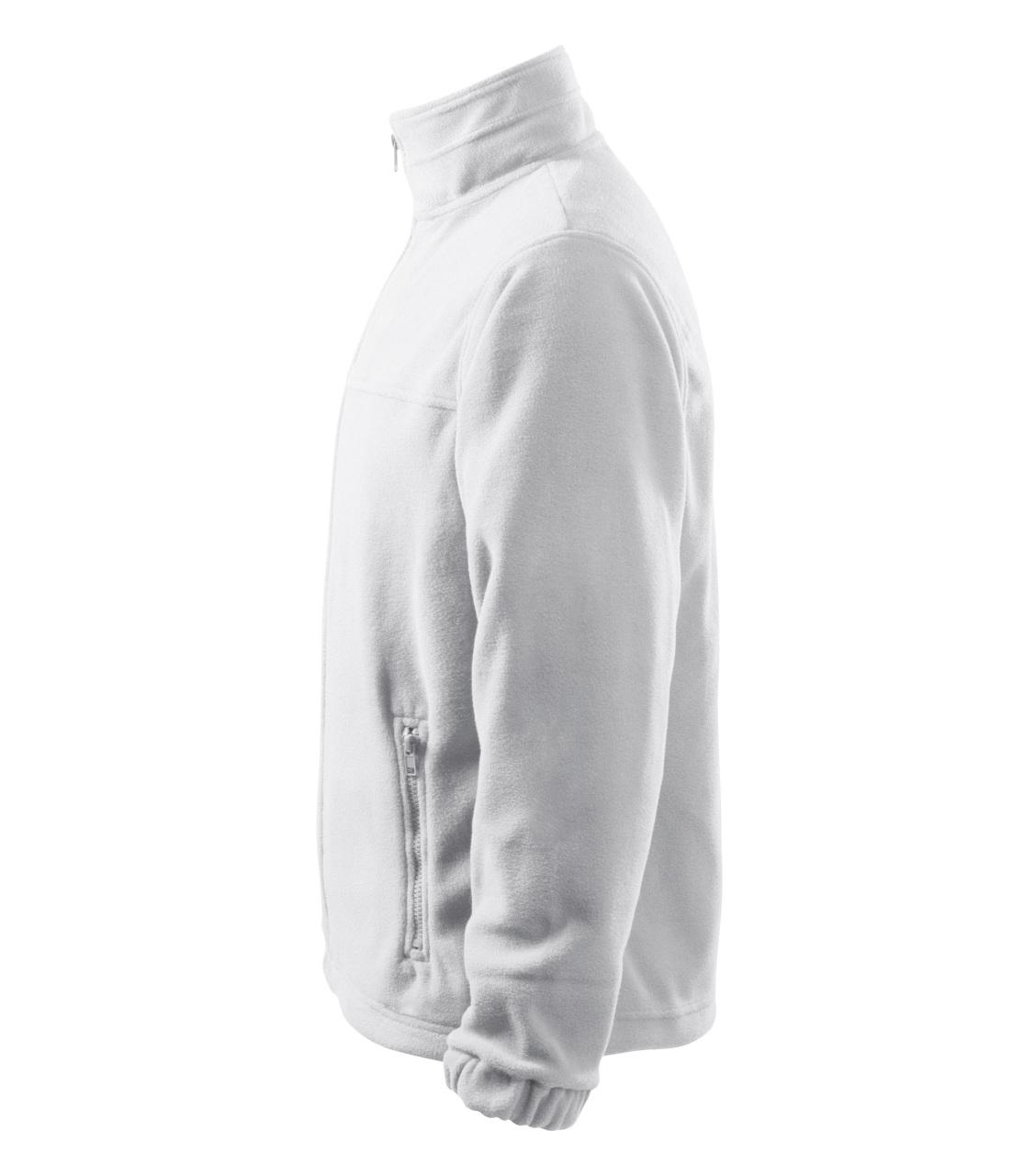 Pánský Fleece Jacket bílá S