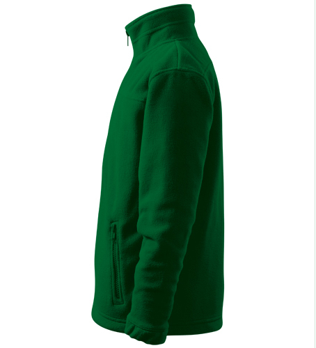 Dětský Fleece Jacket lahvově zelená 122 cm/6 let